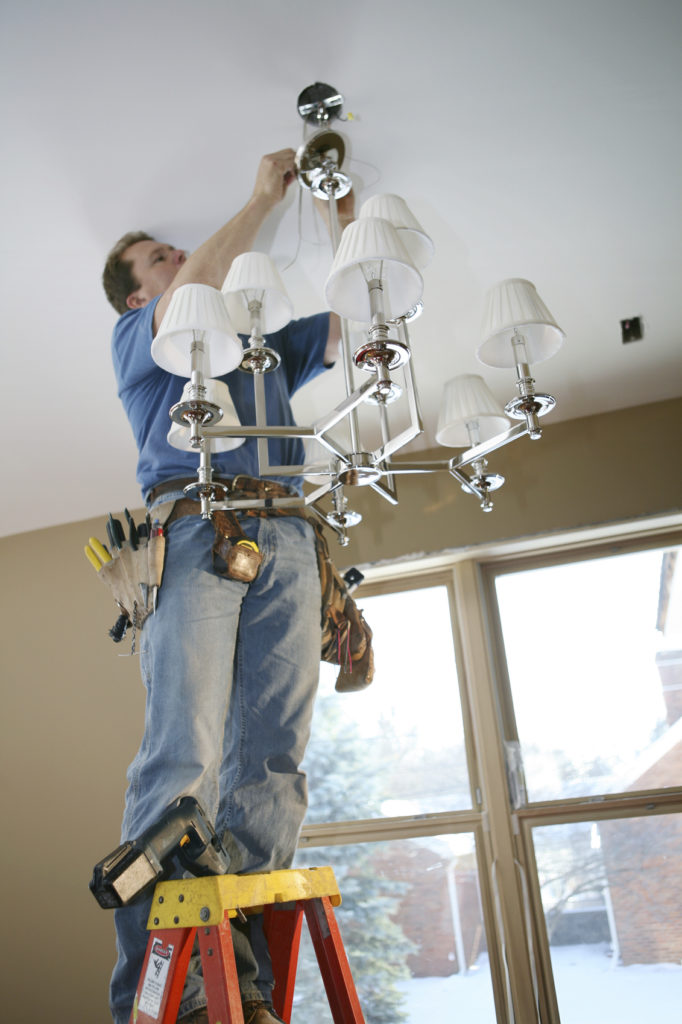 GE Smith Electric Fixture Installation Replacement